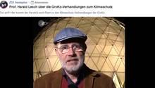 Harald Lesch regt sich über die Klimaschutz-Verhandlungen der GroKo auf