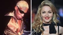 Dennis Rodman und Madonna