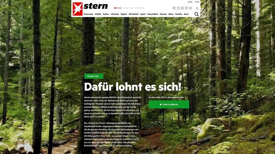 stern-Aktion zum Klima-Tag: Dafür lohnt es sich