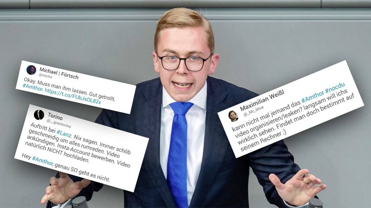 CDU-Politiker neu bei Instagram: Amthor bringt Eigenwerbung statt Rezo-Antwort – Twitter-User sind frustriert
