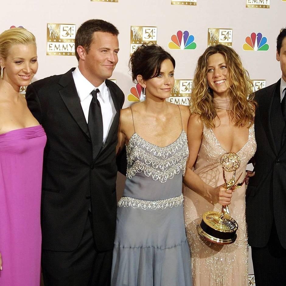 """Kultserie wird 25: """"Friends""""-Stars feiern sich zum Serienjubiläum selbst auf Instagram: """"Ich liebe diese Typen"""""""