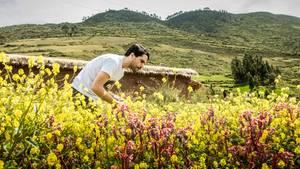 Küchenchef Virgilio Martinez sammelt für seins Restaurants Central und Mil einheimische Zutaten