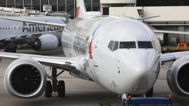 Eine Boeing-Maschine von American Airlines ist offenbar sabotiert worden