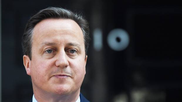 David Cameron, der frühere Premierminister von Großbritannien