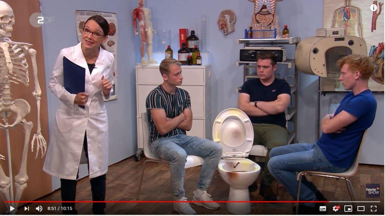 """heute-show"" Carolin Kebekus zum Klimapaket"