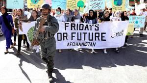 Fridays for Future in der afghanischen Hauptstadt Kabul