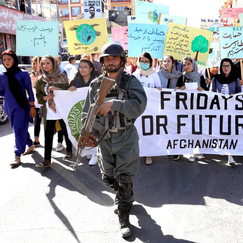 Klimagipfel: Sogar in Kabul wurde für mehr Klimaschutz demonstriert