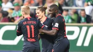 RB Leipzig grüßt nach Auswärtssieg in Bremen von der Tabellenspitze
