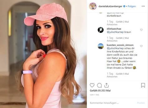 Vip-News: Daniela Katzenberger wird zur Brünette