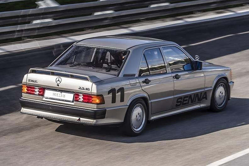 Mercedes 190 E 2.3-16 Senna Lauda 2019
