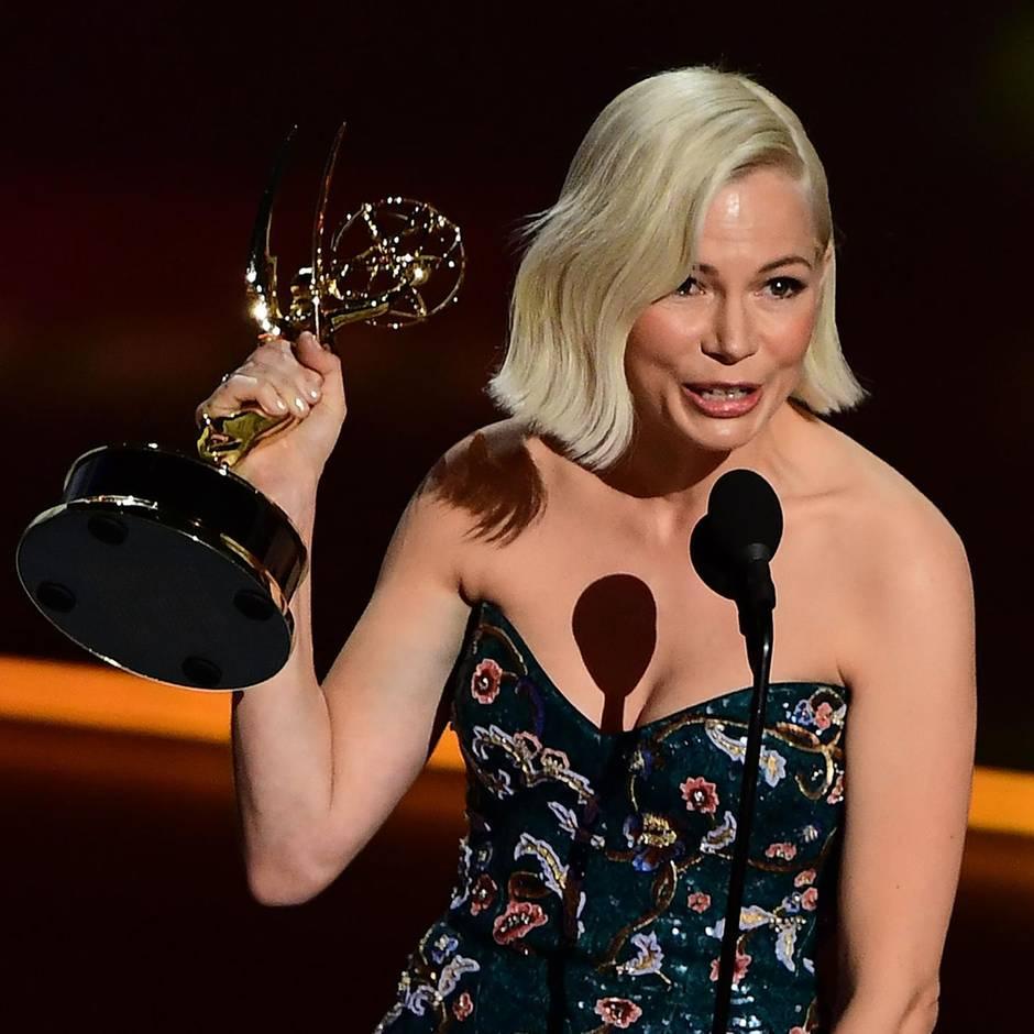 Emmys 2019: Michelle Williams' Dankesrede über gleiche Gehälter bringt ihr eine Standing Ovation