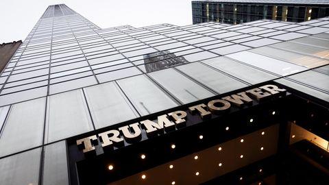 Der Trump Tower an der 5th Avenue in New York