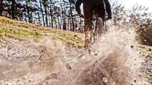 Beim Mountainbiken stürzte Bob B. schwer (Symbolbild)