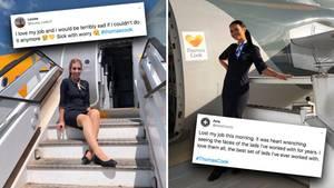 Thomas Cook-Stewardessen sind über Pleite schockiert – und zeigen ihre Trauer bei Twitter