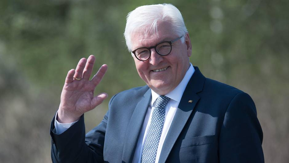 Frank-Walter Steinmeier ist seit 2017 der zwölfte Bundespräsident Deutschlands