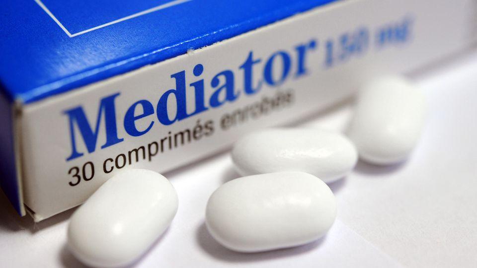 Die angeblichen Schlankmacher-Pillen Mediator waren in Frankreich seit den 70ern bis vor gut zehn Jahren auf dem Markt