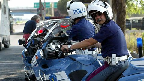Polizei in Pisa