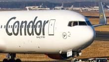 Eine Boeing 767 der Condor