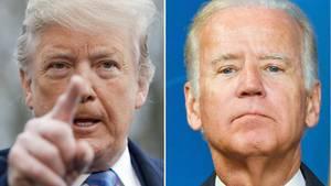 Donald Trump erhebt schwere Vorwürfe gegen Joe Biden