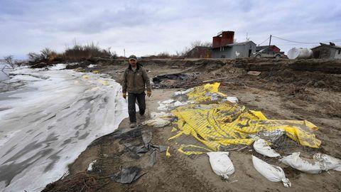 Schwindender Permafrostboden in Alaska