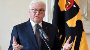 Bundespräsident Frank-Walter Steinmeier in Berlin