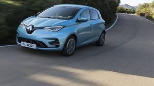 Der Renault Zoe lässt sich auch sportlich bewegen
