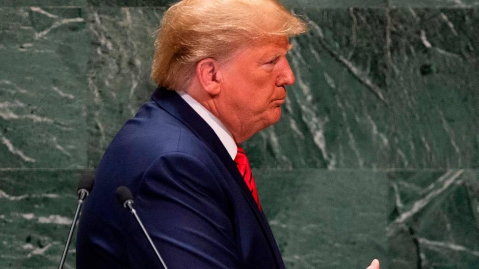 Donald Trump vor UN
