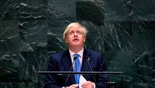 Boris Johnson, Premierminister von Großbritannien