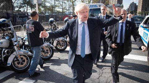 Boris Johnson in New York