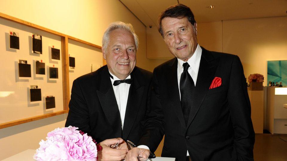 Helge Achenbach und Udo Jürgens