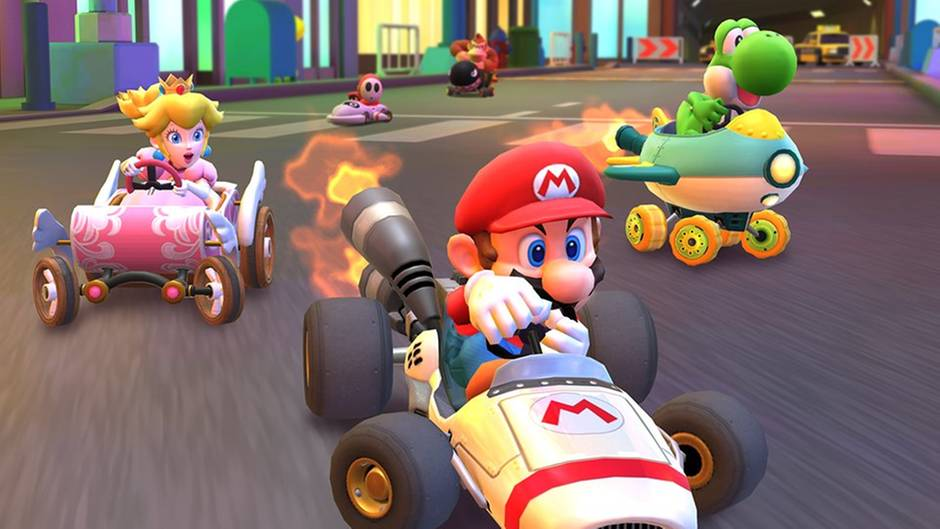 "Artwork von ""Mario Kart Tour"""