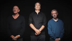 Joa Bausch, Thomas Galli und Volkert Ruhe streiten in der DISKUTHEK über Gefängnisse