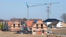 Einfamilienhäuser im Rohbau in der Nähe von Hannover