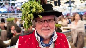 Günter Werner auf dem Oktoberfest
