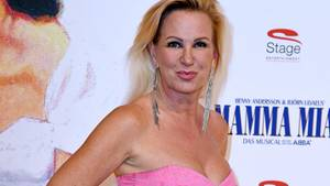 Claudia Norberg bei einer Musical-Premiere in Berlin