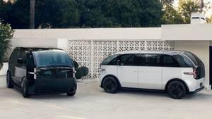 Das Aussehen erinnert an eine moderne Form des alten VW-Busses.
