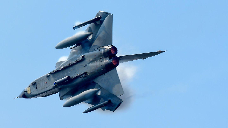 Ein Tornado-Jet der Bundeswehr hat während eines Übungsflugs aus versehen einen Zusatztank abgeworfen
