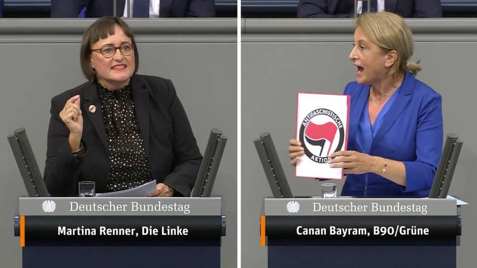 Aufregung im Bundestag: Antifa-Anstecker: Kubicki rügt Linken-Politikerin – dann geht der Ärger erst richtig los