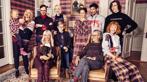 Eleganz in der Mode: Familientreffen