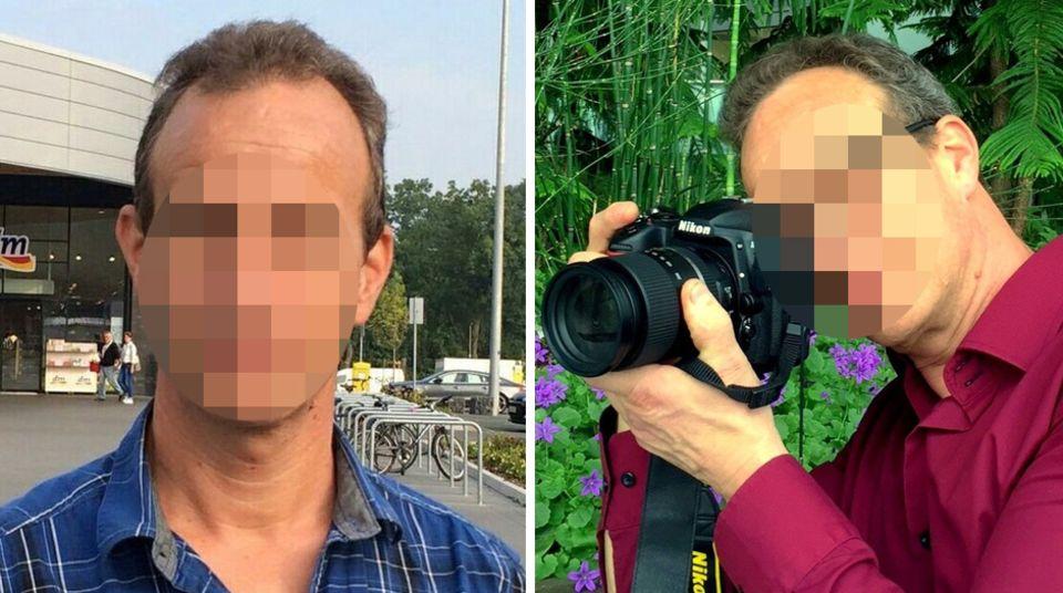 Mit diesen Fotos suchte die Polizei nach dem Verdächtigen