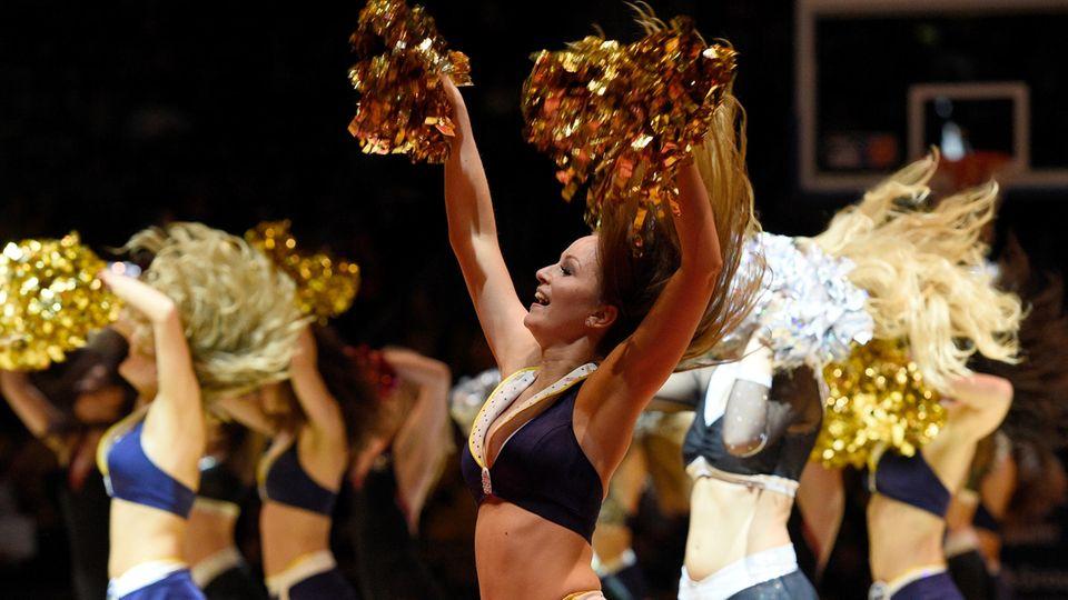 Cheerleading bei Alba Berlin