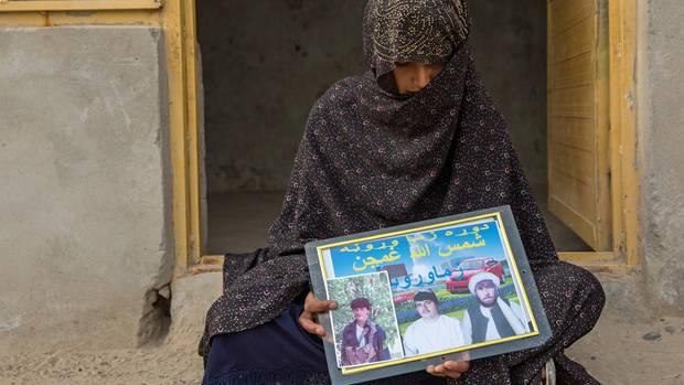 Khadija ist 19 und zum dritten Mal verheiratet