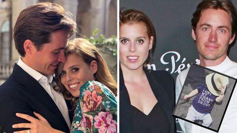 Edoardo Mapelli Mozzi geht im Italienurlaub vor Prinzessin Beatriceihr auf die Knie