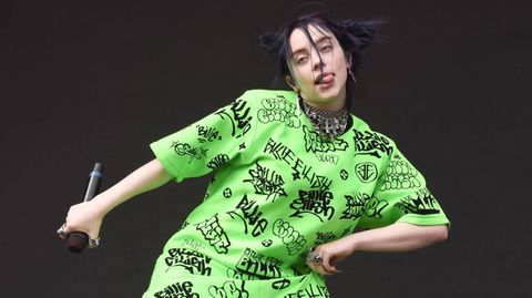 US-Sängerin Billie Eilish