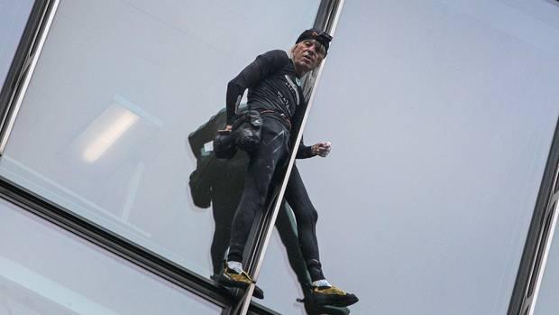 Der Extremkletterer Alain Robert