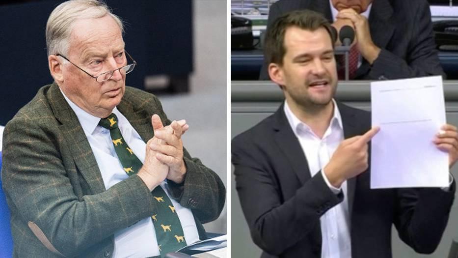 FDP-RentenexperteJohannes Vogel nimmt den Antrag derAfD zur Grundrente auseinander