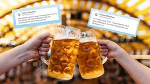 #Wiesnwache: Polizei München informiert humorvoll über Einsätze auf dem Oktoberfest