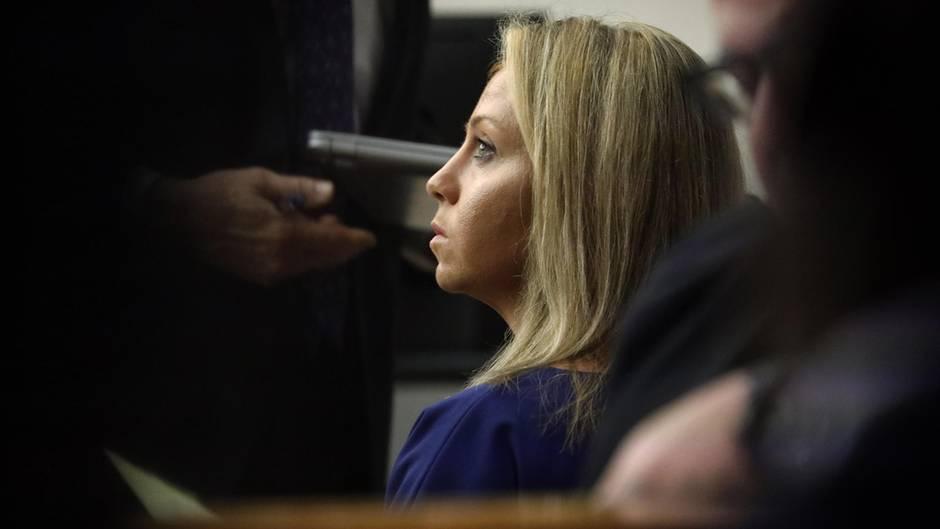 Amber G. zu Beginn des Prozesses.