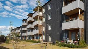 So sehen die Häuser vonBoKlok aus.