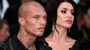 Jeremy Meeks auf dem Filmfestival in Cannes